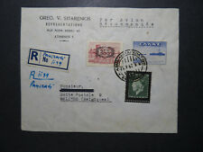 Greece 1947 Airmail Cover to Belgium - Z11904