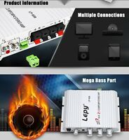 High-end 200W Car Amplifier 12V Mini Hi-Fi Radio MP3 Stereo Car/Motorcycle/ Home