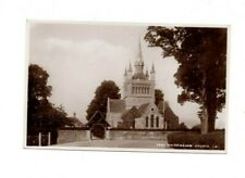 Isle of Wight - Whippingham Church - 1937 Real Photo Postcard