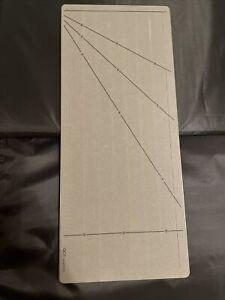 "Accuquilt GO! Fabric Cutting Die Strip Cutter 1 1/4"" (3/4"" Finished) 7 Strips"