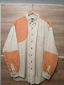 Vintage Men's ROPER RANGE GEAR Size UK XXL Grey Shooting Shirt Great Condition