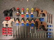 LEGO 6085 Black Monarch's Castle Minifigures x 8 Plus Rare Accessories