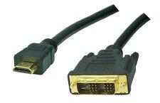 2,5m High Speed HDMI-DVI (18+1p) Kabel, Full HD, 4K x 2K