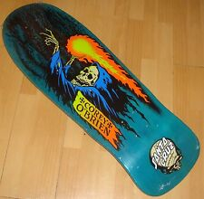 "SANTA CRUZ - Corey O'Brien - Reaper - Skateboard Deck - 9.85"" by 30.0"" - Blue"