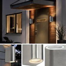 Modern Double up Down Porch Outside External Wall Light Outdoor Exterior Lamp 2x