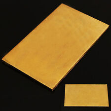 Blech Messingplatte Schweißen Messingblech Kupferplatte Kupferbleche 60*100*3 mm