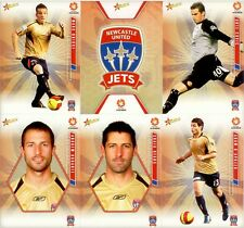 2007 Select A-LEAGUE Soccer - NEWCASTLE UNITED JETS Team Set of 16 cards