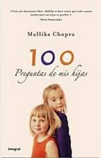 100 preguntas de mis hijas 100 Questions from My Child (Spanish Edition)