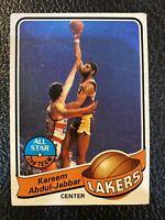 KAREEM ABDUL JABBAR 1979 TOPPS #10 LOS ANGELES LAKERS B