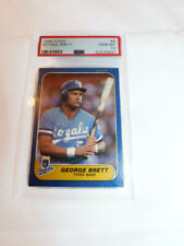 1986 FLEER #5 GEORGE BRETT ROYALS HOF Baseball Card PSA 10