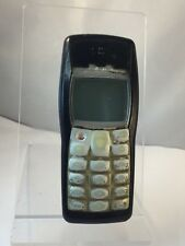 Incomplete - Nokia 1100 - Black And Gold - Unlocked - Mobile Phone - Handset