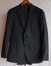 New sz 46 / US 36 R John Varvatos mainline black suit jacket pants