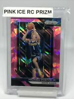 MICHAEL PORTER JR. RC 2018-19 PANINI PRIZM #32 PINK CRACKED ICE ROOKIE SP NUGGET
