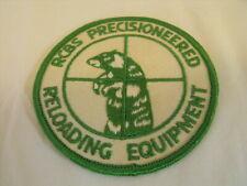 Rcbs Precisioneered Reloading Equipment (Guns Shotgun Rifle) Patch Logo