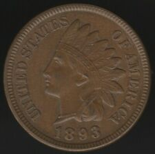 More details for 1893 u.s.a.indian head cent | world coins | pennies2pounds
