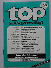 TOP Schlagertextheft Nr. 130,  Moti Special, Kaczmarek
