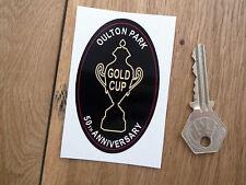 Oulton Park Gold Cup 50e Anniversaire classic car sticker circuit moto britannique