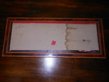 Cornice porta foto da muro legno lastronata e filettata Frame cm. 48,5x20