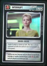 Star Trek CCG Amanda Rogers 1E Tournament Foil Promo EX/NM