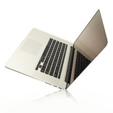 """BLACK Silicone Keyboard Cover for NEW Macbook Pro 15"""" A1398  with Retina display"""