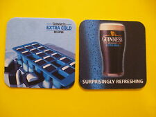 Beer Collectible Coaster ~ GUINNESS Draught Extra Cold ~ Surprisingly Refreshing