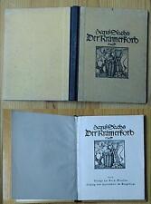 hans sachs der krämerkorb 1925 verl.e.matthes leipzig und gartenstein erzgebirge