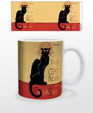 CHAT NOIR 11 OZ COFFEE MUG PARIS FRENCH CAT ENTERTAINMENT THEATRE CABARET SHOW!!