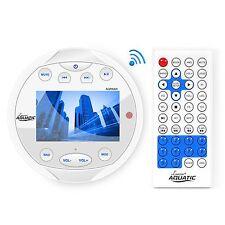 The Lanzar AQR84W Aquatic Waterproof Marine Stereo Radio Receiver USB MP3 AUX
