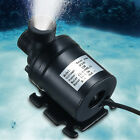 800L/H 5M DC 12V 24V Solar Brushless Motor Hot Water Circulation Water Pump