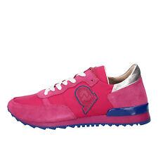 scarpe donna INVICTA 41 EU sneakers fucsia camoscio tessuto AB52-G
