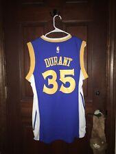 Mens Adidas Sz Small Kevin Durant Warriors Nba Basketball Jersey ~ Sewn
