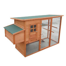 NEW STOCK X-large 2.3*1*1.3M Chicken Coop Hen house Chook Hutch Run Cage P001-L