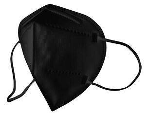 FFP2 Atemschutzmaske schwarz CE DIN EN149:2001 + A1:2009
