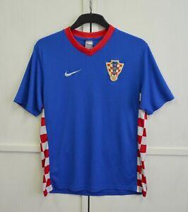 Croatia Hrvatska 2007/2008/2009 Away Football Shirt Soccer Jersey Nike Size L(M)