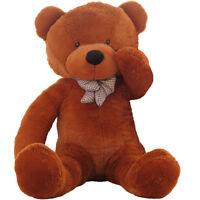 "Giant Teddy Bear Plush Stuffed Animal Toy Kids Birthday Valentines Xmas Gift 47"""