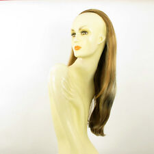 DT Half wig HairPiece clear light coppery blond and chocolate 24.4 :19/15613h4