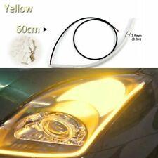 Flexible Turn Signal Fog Lamp Running Strip Light Soft Tube Car LED Headlight