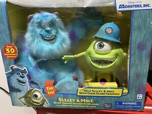 Disney Pixar Monsters INC Interactive Scare Training Sully & Mike Sealed MIB