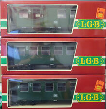 LGB Lehmann 3070 3070 3071 DB 3 Car Passenger Set G Scale