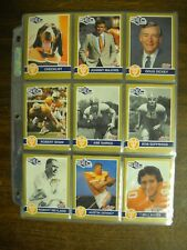 1991 HOBY SEC Tennessee Volunteers Complete 38 Card Set FREE Shipping