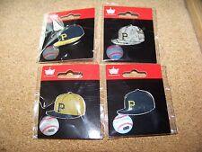 4 - Pittsburgh Pirates logo baseball cap pins hat pin NEW for 2015