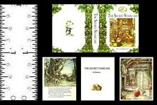 1:12 SCALE MINIATURE BOOK THE SECRET STAIRCASE BRAMBLY HEDGE