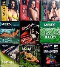 27 pcs Multi Company sampler COMBO shipping Concealed Condom KS Manforce Mooods