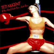 TED NUGENT If You Can't Lick 'Em... Lick 'Em 1988  vinyl LP EXCELLENT CONDITION