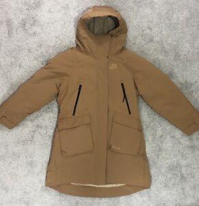 Nike Sportswear Tech Pack Down Fill Parka Bronze Khaki 939493-255 Wmns Size M