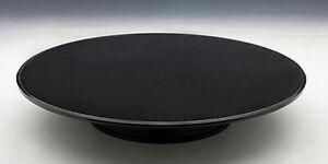 "Autoart 12"" Rotating Display Stand turntable black felt top A98011"