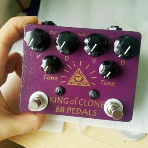 NEW 68 Pedals King of Clone Overdrive KOT King of Tone US Free Shopping