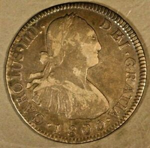 1800 Guatemala 2 Reales Silver Nice for Type Coin   ** FREE U.S. SHIPPING **