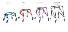 Nimbo 2G Childrens Rear Posterior Kids Walking Frame Wheels Walker Adjustable