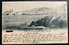 1901 St Vicente Cape Verde Portugal RPPC Postcard Cover To Hamburg Germany